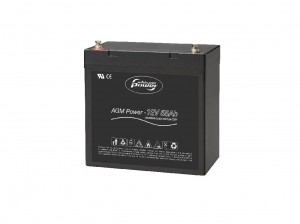 Whisper Power AGM Battery 12 V - 55 Ah akumulatory