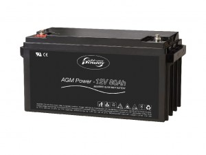 Whisper Power AGM Battery 12 V - 80 Ah  akumulatory