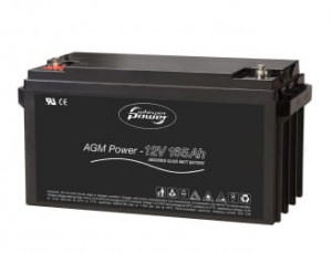 Whisper Power AGM Battery 12 V - 165 Ah  akumulatory